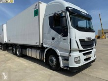 Iveco insulated tractor-trailer