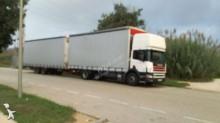 ensemble routier savoyarde système bâchage coulissant Scania