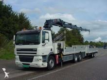 DAF flatbed tractor-trailer