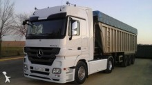 Mercedes tipper tractor-trailer
