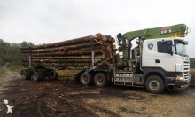 Scania timber tractor-trailer
