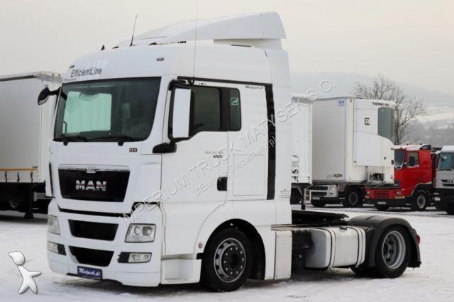 Conjunto rodoviário MAN TGX 18.480 / XLX / EURO 5 EEV/ LOW DECK / MEGA /