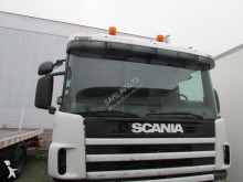Scania heavy equipment transport tractor-trailer