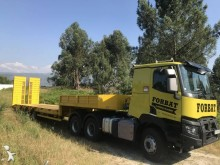 ensemble routier porte engins Renault