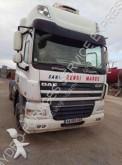 vrachtwagencombinatie metaalkipper DAF