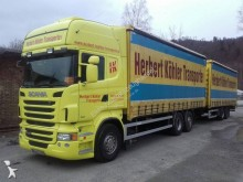 Scania tautliner tractor-trailer