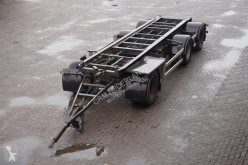 Floor Container aanhanger 3-assig/ liftas tractor-trailer