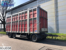 conjunto rodoviário General Trailers Autonoom 2 layers Animal transport Body, Roof height adjustable, Steel suspension