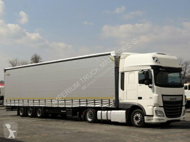 View images DAF XF 460/SSC/EURO 6 /LOW DECK+SCHMITZ/MEGA/VARIOS tractor-trailer