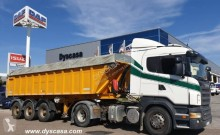 ensemble routier benne Scania