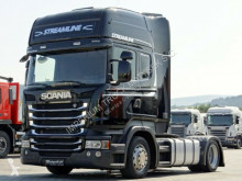 Scania R 410 / LOW DECK /RETARDER / EURO 6/ MEGA / Sattelzug