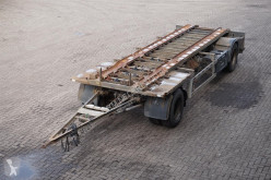 rimorchio Burg Container transport Drum brakes
