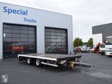 Renders Tandem aanhangwagen met twistlocks trailer