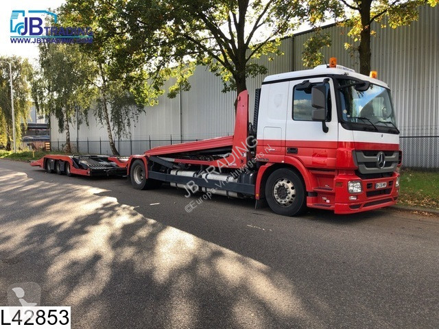 Voir les photos Ensemble routier Lohr Middenas Multilohr, EURO 5, Retarder, Standairco, Airco, Powershift, Trucktransport, Combi