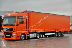 ensemble routier MAN TGX 18.440 /XXL/LOW DECK/ACC/E6 + KRONE /MEGA/