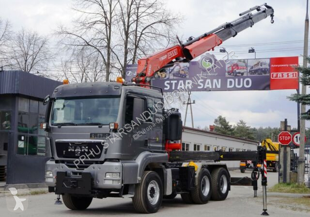 View images MAN TGS 26.480 6x4 FASSI F360 XP 4+1 EURO 5 Kran tractor-trailer