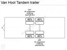 Vedere le foto Rimorchio Van Hool Tandem trailer