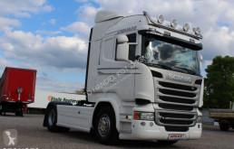 Bekijk foto's Vrachtwagencombinatie Scania R450  /EURO 6 /LODÓWKA/ STANDARD /RETARDER/ HYDRAULIKA HYVA /**SERWIS**/ STAN IDEALNY /