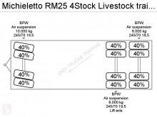 ensemble routier nc bétaillère bovins RM25 4Stock Livestock trailer occasion - n°2933365 - Photo 16