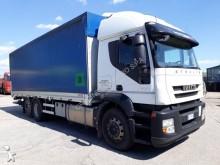 conjunto rodoviário Iveco caixa aberta com lona Stralis AT 260 S 42 Y/PS Euro 5 plataforma rectaguarda usado - n°2762837 - Foto 2