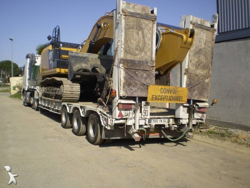 Tractor Trailer Truck Accessories : Used volvo fh heavy equipment transport tractor trailer
