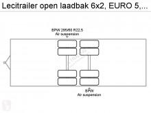 Vedere le foto Autotreno nc open laadbak  EURO 5, Retarder, Airco, BDF, Disc brakes, Kooiaap system, Combi