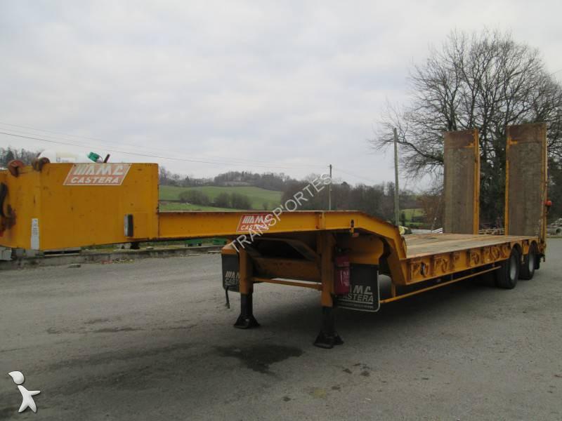 Semi Remorque Castera Porte Engins Essieux Occasion N - Porte engin occasion 2 essieux