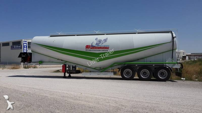 View images Lider 60 M3 Bulk Cement Trailer semi-trailer