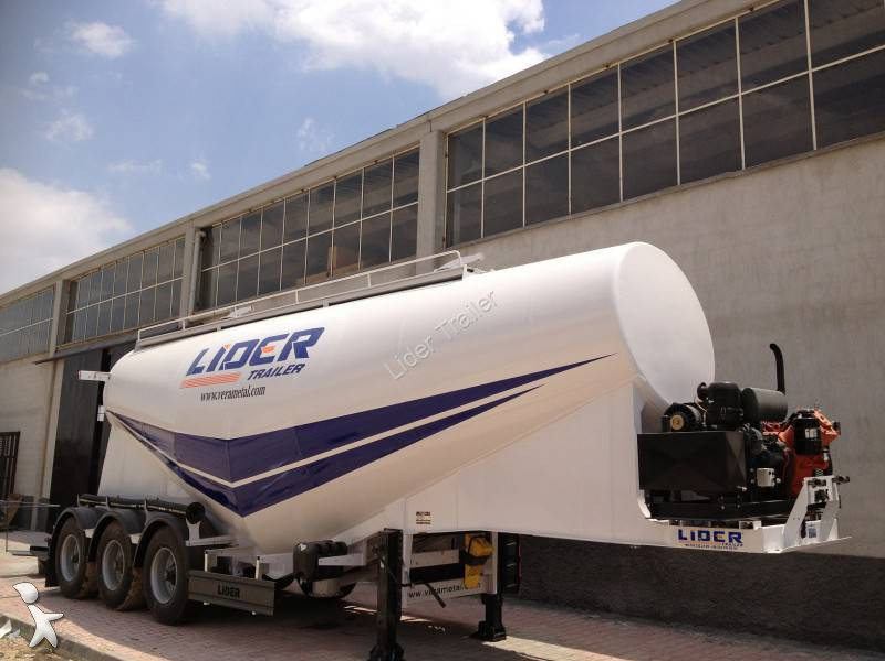 Voir les photos Semi remorque Lider Ciment en Vrac Remorque ( 35 M³ )