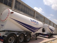 Lider concrete semi-trailer