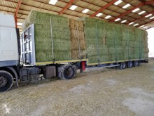 Leciñena straw carrier flatbed semi-trailer