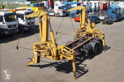 semirremolque Klaus Side loader 22 ton 20ft Steel suspension / with its own engine