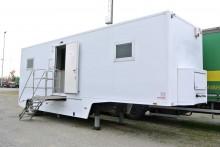 Leveques semirimorchio 10m monoasse racing fiere banca-ufficio-regia mobile usato