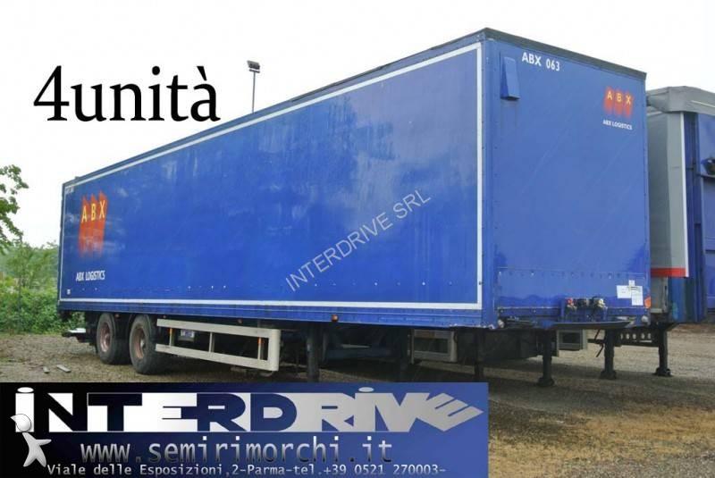 Voir les photos Semi remorque Van Hool semirimorchio furgonato 2 assi sponda usato