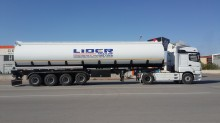 semi remorque Lider Fuel Tanker (44000 Lt / 4 Axles)