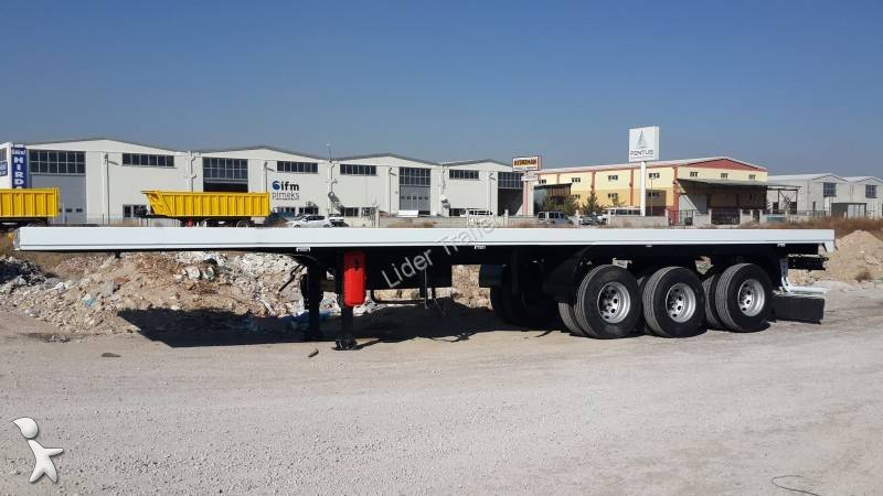 Voir les photos Semi remorque Lider Flatbed ( 2 Axles + 1 Tandem )
