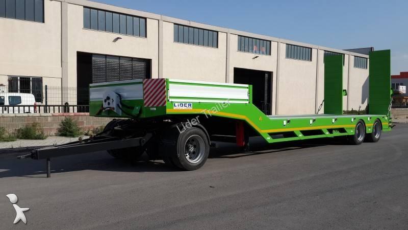 Lider Lowbed ( 2 Axles ) semi-trailer