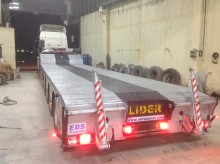 semi remorque Lider Lowbed Prolongable ( 5 Axles )