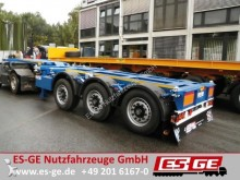 semirremolque Broshuis 3-Achs-Containerchassis - multifunktional