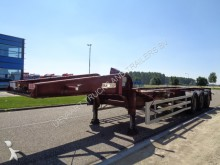 semi remorque SDC 20FT Tank container chassis