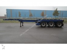 semi remorque Netam 3 AXLE CONTAINER TRAILER