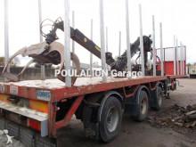 semirimorchio trasporto tronchi usato