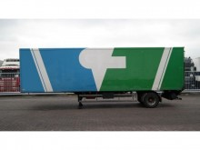 semi remorque Samro 1 AXLE CLOSED BOX CITY TRAILER