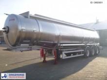 semi remorque Maisonneuve Fuel tank 38.7 m3 / 8 comp.