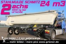 semi remorque Schmitz Cargobull SKI 18 SL 7,2 / STAHLMULDE /HEAVY DUTY / 5600 kg