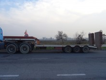CTC heavy equipment transport semi-trailer