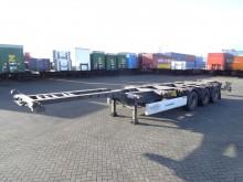 semi remorque porte containers Krone