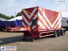 semi remorque porte containers Van Hool