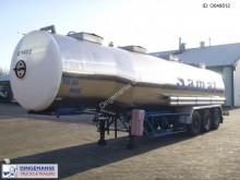 semirimorchio Magyar Chemical tank inox 33 m3 / 4 comp.