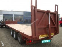 semi remorque Ackermann 3axel steelsprings low loader